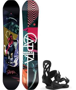 CAPiTA Indoor Survival Snowboard w/ Union Contact Pro Bindings