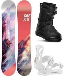 CAPiTA Paradise Snowboard Package