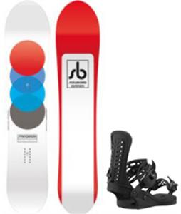 CAPiTA Spring Break Powder Racer Snowboard w/ Union Force Snowboard Bindings