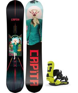 CAPiTA The Outsiders Snowboard w/ Union Strata Bindings