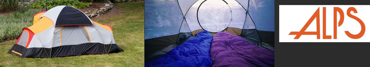 Alps Sleeping Bags, Tents, Shelters & Tarps