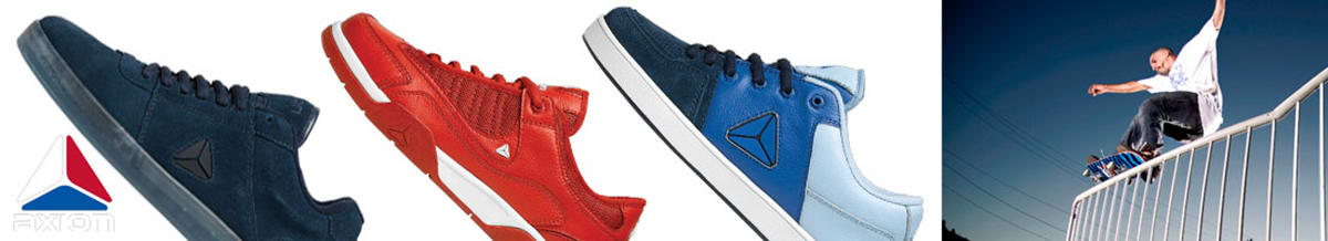Axion Skate Shoes & Skateboard Clothing