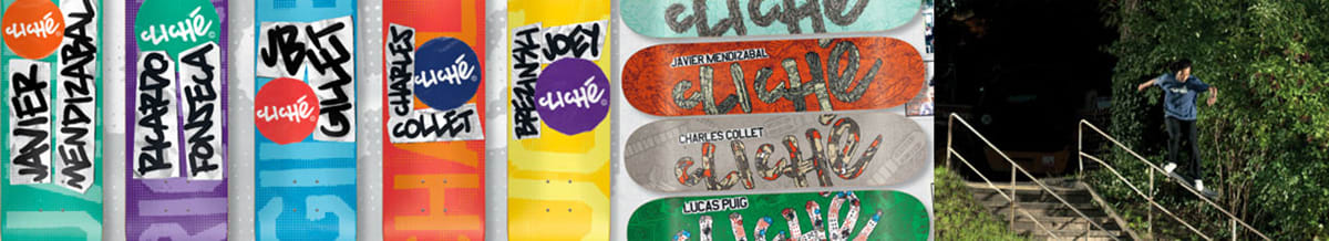 Cliche Skateboards & Accessories