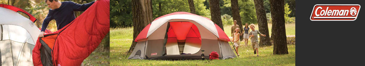 Coleman Sleeping Bags, Tents, Shelters & Tarps