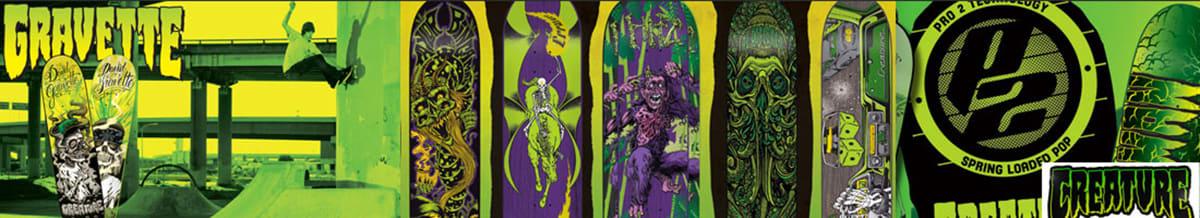 Creature Skateboard Decks & Completes