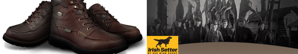 Irish Setter Hiking Shoes, Boots, Outdoor Footwear
