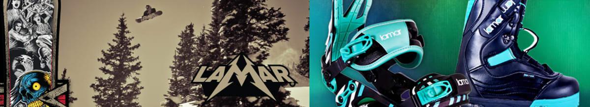 Lamar Snowboards, Snowboard Boots & Bindings
