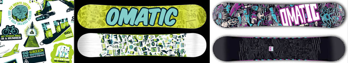 Omatic Snowboards Men's & Women's