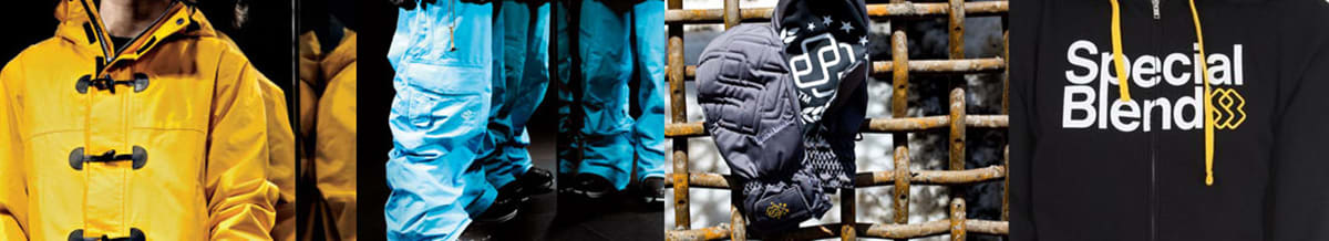 Special Blend Snowboard Clothing, Jackets, Pants, Hoodies, Beanies, Fleece, T-Shirts