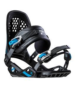 Chamonix Cornu Mens Snowboard Bindings White//Blue Sz L 9-13