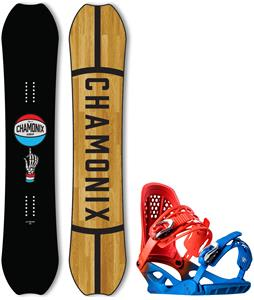 Chamonix Cornu Wide Snowboard w/ Brevent Bindings