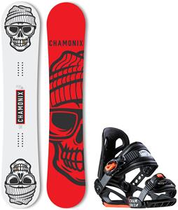 Chamonix Crozat Wide Snowboard w/ Cheval Jr Bindings