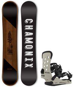 Chamonix Dolent Snowboard w/ Union STR Bindings