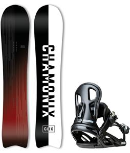 Chamonix Route Snowboard w/ Macon Bindings