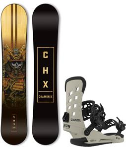 Chamonix Sword Of The Samurai Snowboard w/ Union STR Bindings