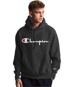 Champion Reverse Weave Logo Pullover Hoodie