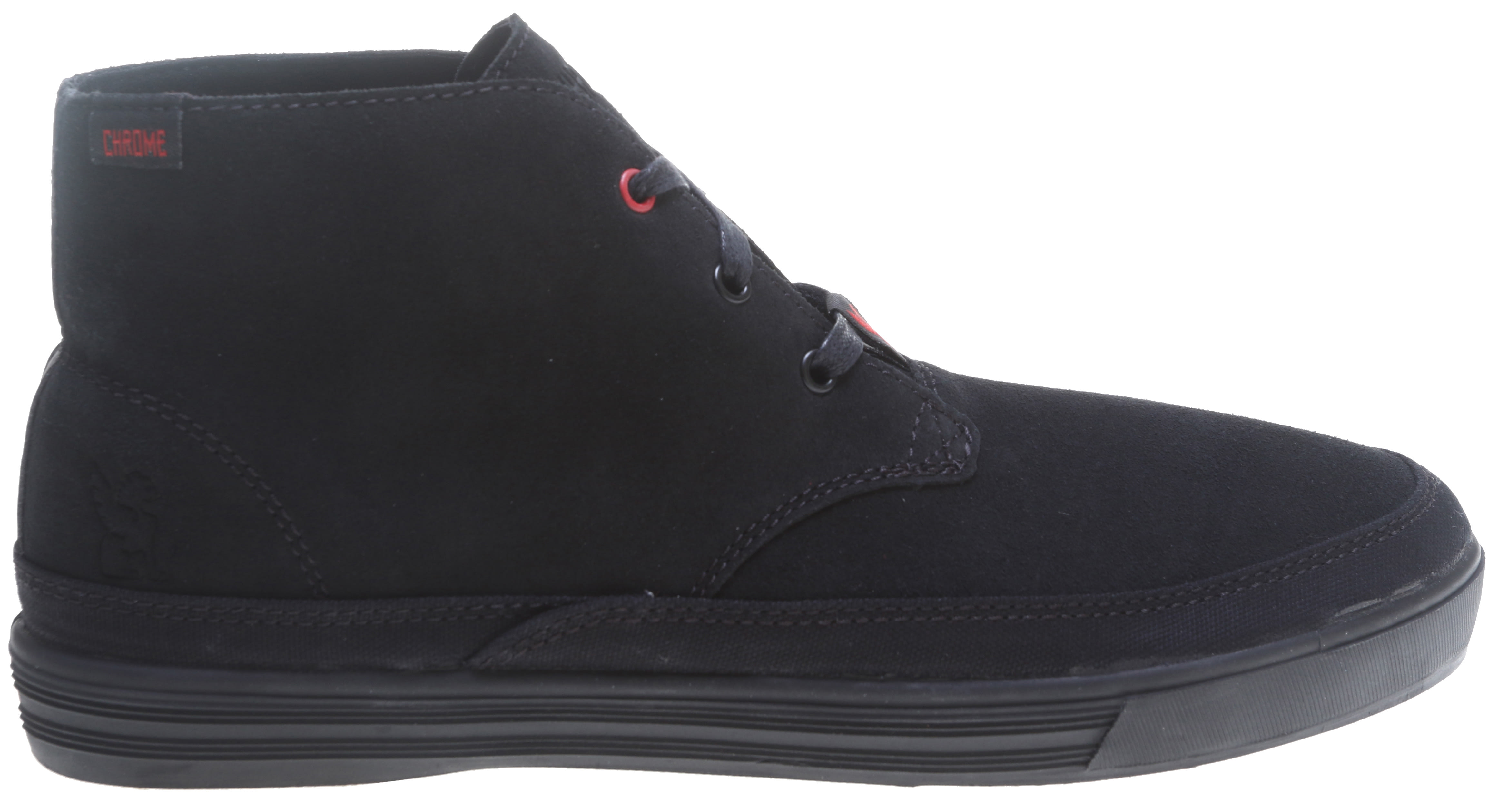 Chrome Suede Forged Chukka Shoes - thumbnail 1