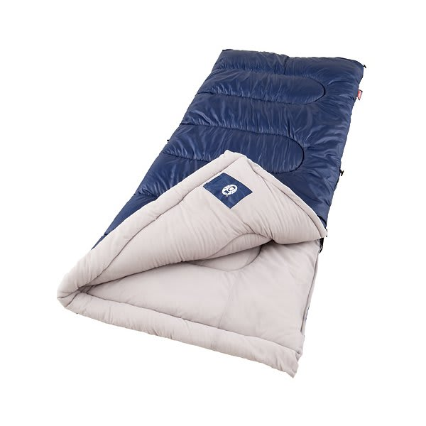 Coleman Brazos Cold Weather Sleeping Bag Navy U.S.A. & Canada