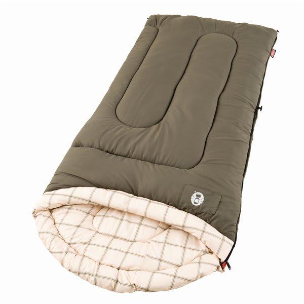 Coleman Calgary Cold Weather Sleeping Bag Tan U.S.A. & Canada