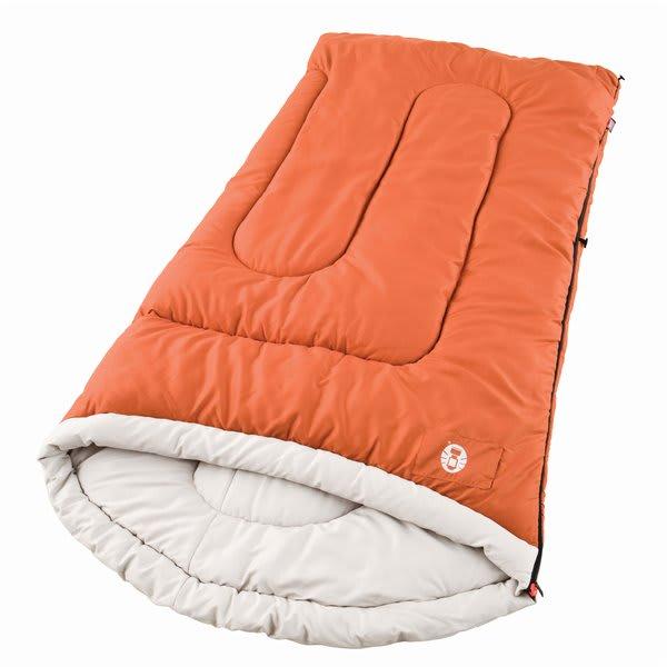 Coleman Sabine Tall Cold Weather Sleeping Bag Rust U.S.A. & Canada