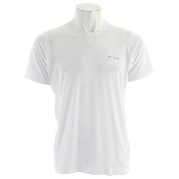 Columbia Baselayer Lightweight S / S Top White U.S.A. & Canada