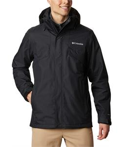 Columbia Bugaboo II Fleece Interchange Active Fit Snowboard Jacket