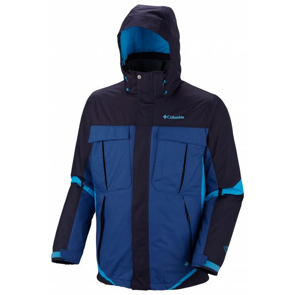 Columbia Bugaboo Interchange Jacket Ebony Blue / Royal / Compass Blue U.S.A. & Canada