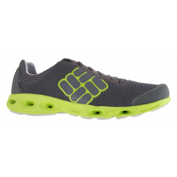 Columbia Drainmaker Water Shoes Castlerock / Lime Green U.S.A. & Canada