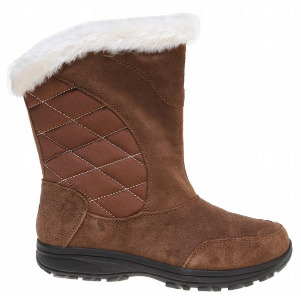 Columbia Ice Maiden Slip Boots Bison / Turtledove U.S.A. & Canada