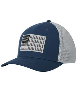 Columbia Mesh Tree Flag Ball Cap