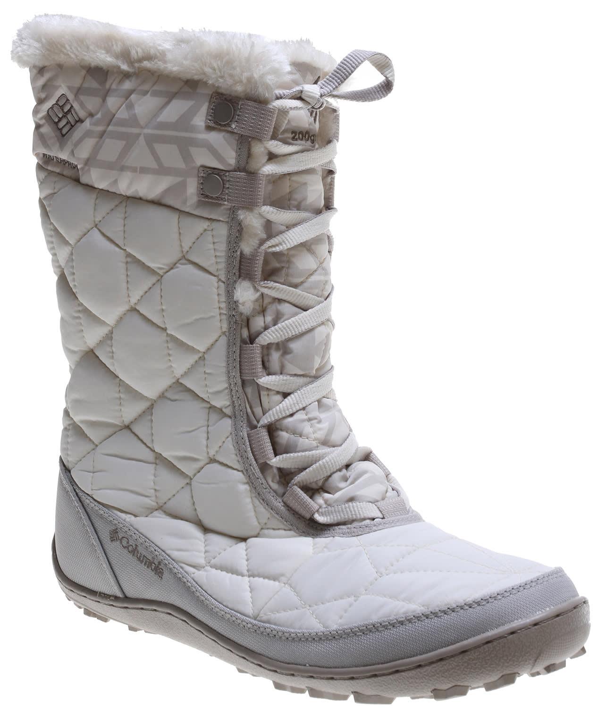 Columbia Minx Mid Ii Omni Heat Print Boots Womens