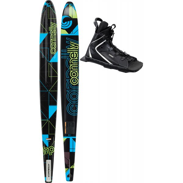 Connelly Hp Slalom Waterskis 66 W / Nova / Adj Rtp Bindings U.S.A. & Canada