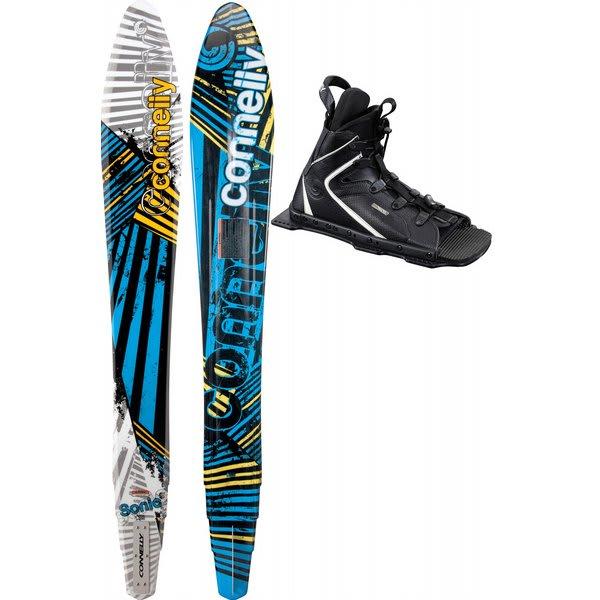 Connelly Sonic Slalom Waterskis 65 W / Nova / Adj Rtp Bindings U.S.A. & Canada