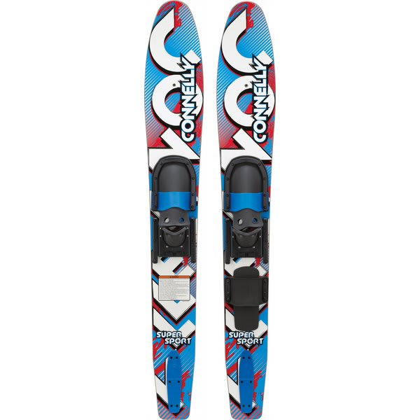 Connelly Super Sport Combo Waterskis W / Jr Slide Adj Bindings U.S.A. & Canada