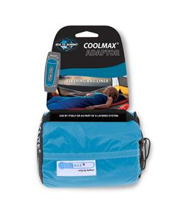 Sea To Summit Adaptor Coolmax Mummy Sleeping Bag Liner