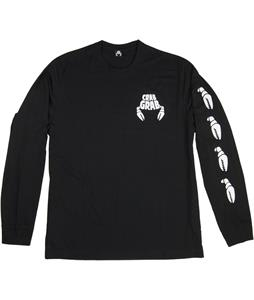 Crab Grab Claw Sleeve L/S T-Shirt