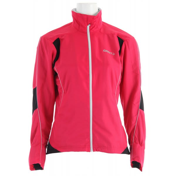 Craft Pxc Light Cross Country Ski Jacket Russian Rose / Black / Platinum U.S.A. & Canada