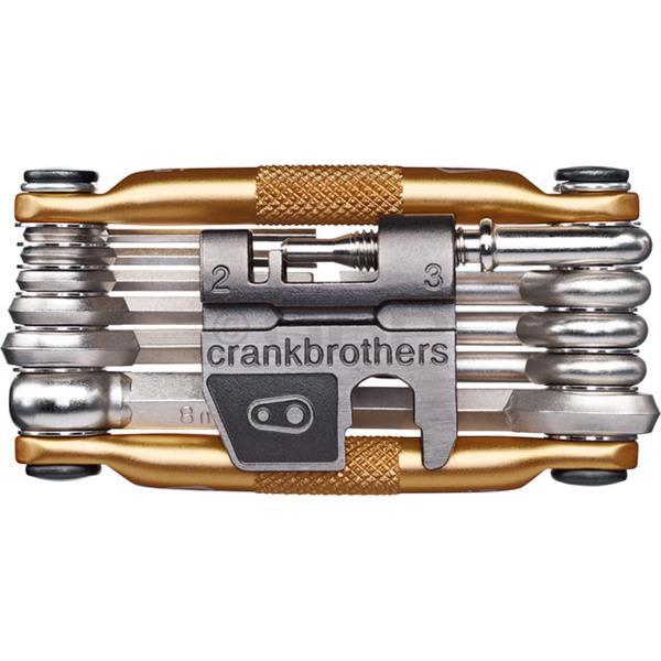 Crank Brothers Multi 17 Bike Tool Gold U.S.A. & Canada