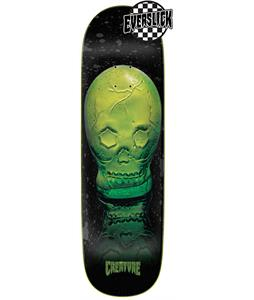 Creature Green Skull Everslick Skateboard Deck