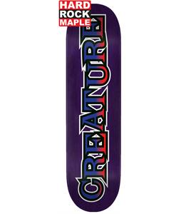 Creature Long Logo SM Hard Rock Maple Skateboard Deck