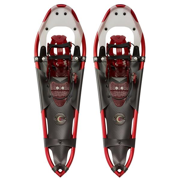 "Crescent Moon Gold Series 13 Trail Snowshoes Red 24 5"" U.S.A. & Canada"