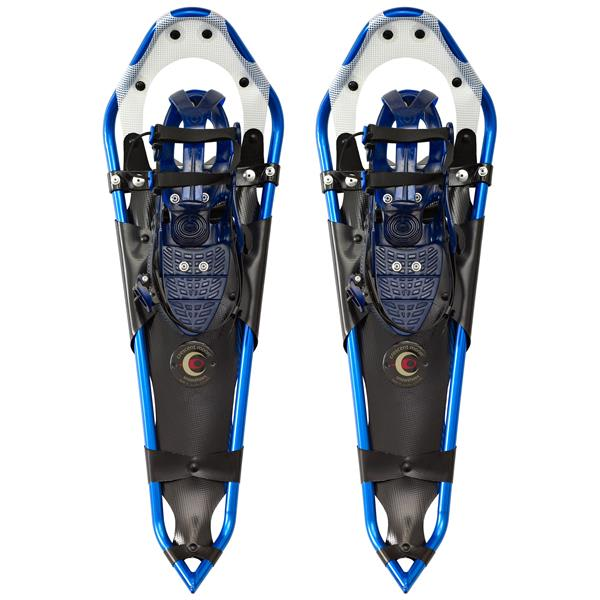 "Crescent Moon Gold Series 15 Backcountry Snowshoes Blue 29"" U.S.A. & Canada"