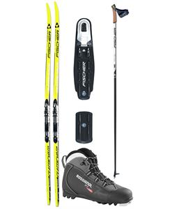 Fischer CRS Classic Vasa XC Ski Package