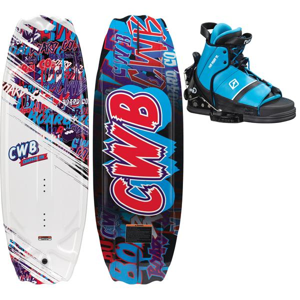 Cwb Charger Wakeboard W / Tyke Bindings One Size U.S.A. & Canada