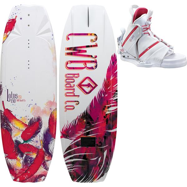 Cwb Lotus Wakeboard 130 W / Bliss Bindings U.S.A. & Canada