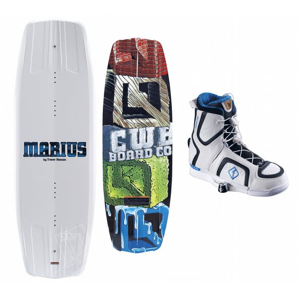 Cwb Marius Wakeboard 140 W / Marius Bindings Blem U.S.A. & Canada