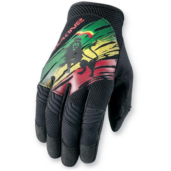 Dakine Covert Bike Gloves Rasta U.S.A. & Canada