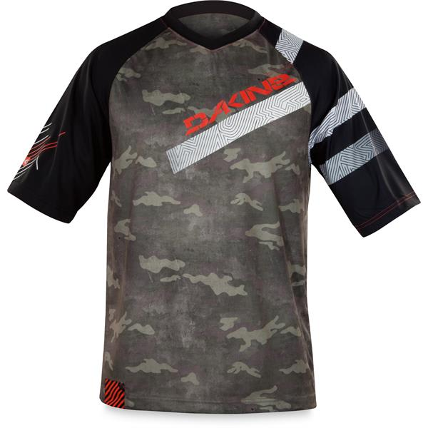 Dakine Descent Bike Jersey Timber U.S.A. & Canada