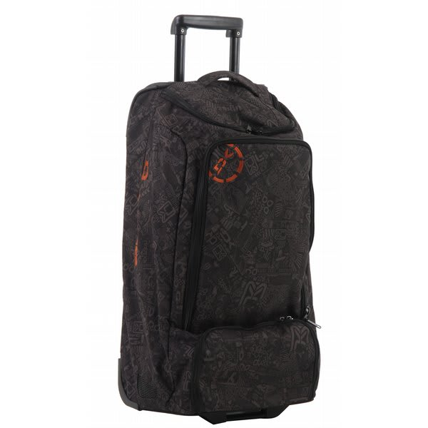 Dakine Ez Traveler 90 Travel Bag Black Chop Shop U.S.A. & Canada