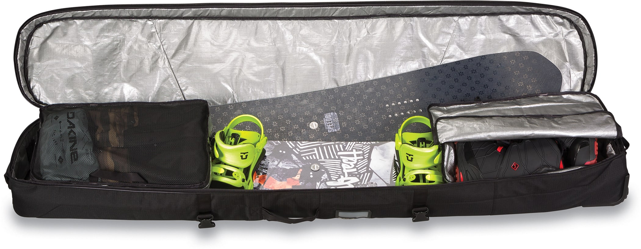 Dakine high roller snowboard bag 2018 for Housse snowboard dakine
